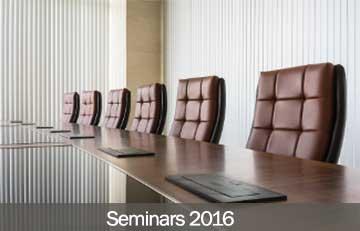 Seminars 2016
